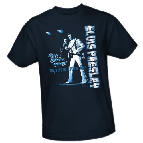 One Night Only -- Elvis Presley Youth T-Shirt, Youth Medium (T-shirt Only Medium Youth)