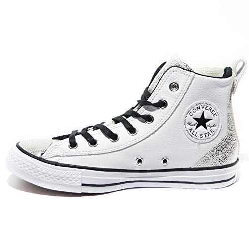 Pelle Sneakers Donna all Converse Chuck Bianco Taylor Leather Alte Chelsee Star 0Rpx8qw