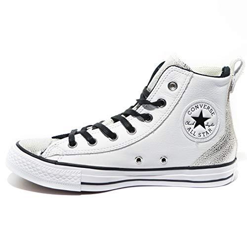 Chelsee Hi Star All Blanc argent x0FYEq5w