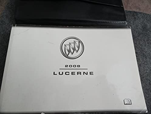 2008 buick lucerne owners manual buick amazon com books rh amazon com buick lucerne owners manual 2008 buick lucerne owners manual 2007