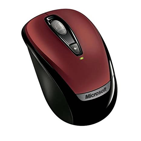 c8808a1ffb8 Amazon.com: Microsoft Wireless Mobile Mouse 3000 - Red: Electronics