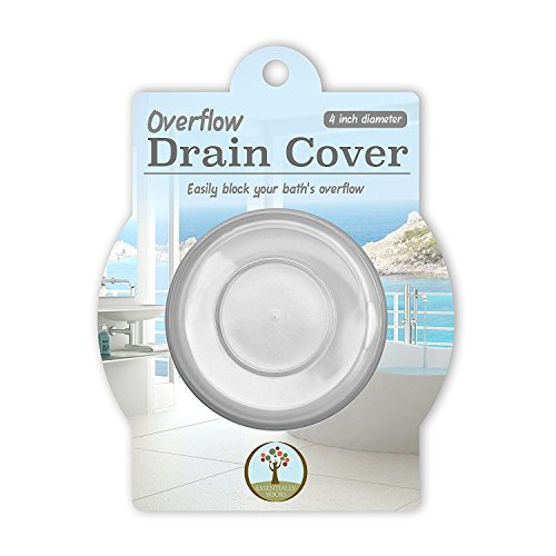 Bathtub Overflow Cover - Essentially Yours Deeper Bath Overflow Drain Cover - Increase Bathtub Water Levels