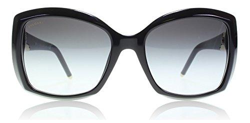 Bvlgari 501/8G Black 8133 Wayfarer Sunglasses Lens Category - Bvlgari Mens Sunglasses