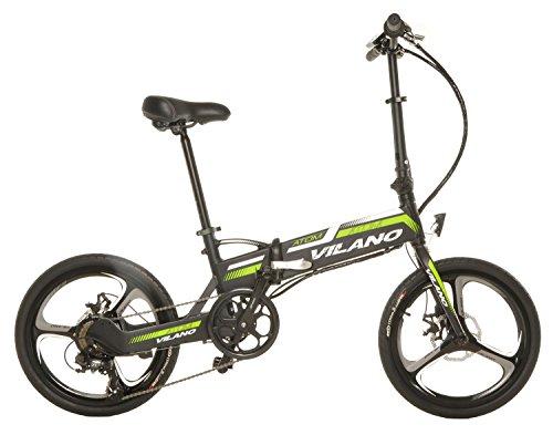 Vilano ATOM Electric Folding Bike, 20-Inch Mag Wheels by Vilano (Image #1)