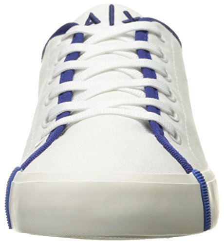 X Sneaker Canvas Armani Exchange Armani Fashion Royal Women Exchange A Blue AUadwqA