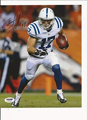 Griff Whalen Indianapolis Colts Hand Autographed Signed Autograph Color 8x10 PSA/DNA X75065