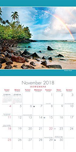 Hawaii 2018 Deluxe Wall Calendar - Hawaii Landscapes by Michael & Monica Sweet Photo #2