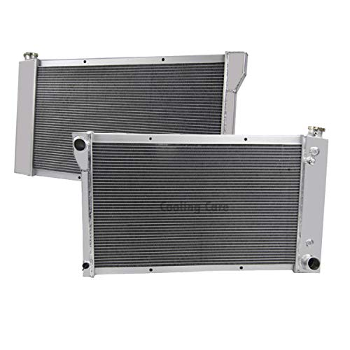 CoolingCare 3 Row Aluminum Radiator for 1967-1972 Chevy GMC C/K Series 10/20/30 Pickup