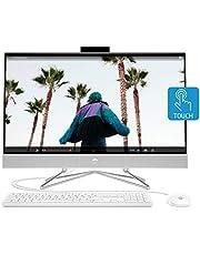 HP 27-inch Touchscreen All-in-One Desktop Computer, AMD Ryzen 5 4500U Processor,16 GB RAM, 512 GB SSD, Windows 10 Home (27-dp0160, Silver)