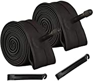 """CSYLX Bike Tube 20"""" x 2.125/2.35 for Bicycle Replacement Inner Tube,Pack"""
