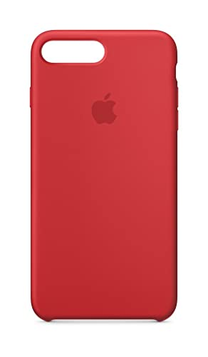 newest 24aa6 53a4c Amazon.com: Apple Silicone Case (for iPhone 8 Plus / iPhone 7 Plus ...