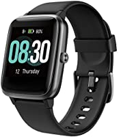 Smart Watch Uwatch3 Fitness Tracker with 5ATM Waterproof