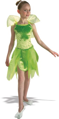 Tinkerbell Child Costume - (Ballerina Costumes Child)