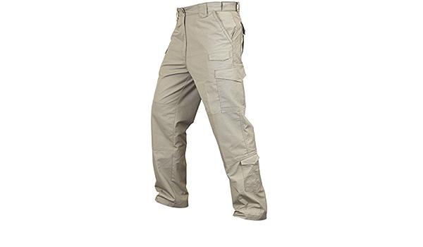 Amazon Com Condor 608 Sentinel Pantalones Tacticos Para Hombre Color Caqui 44w 30l Clothing