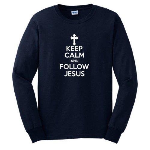 Keep Follow Jesus Sleeve T Shirt