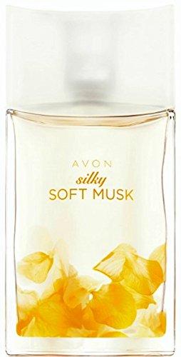 AVON Silky Soft Musk Eau De Toilette Natural Spray 50ml - - Musk Eau Soft