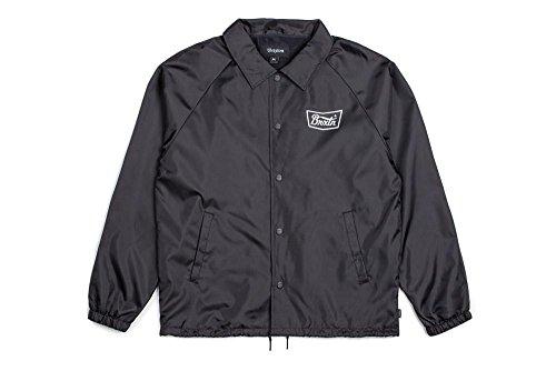Hombre Negro blanco Jacket Stith Hombre Apparel Jacket Brixton wn7vZHwq
