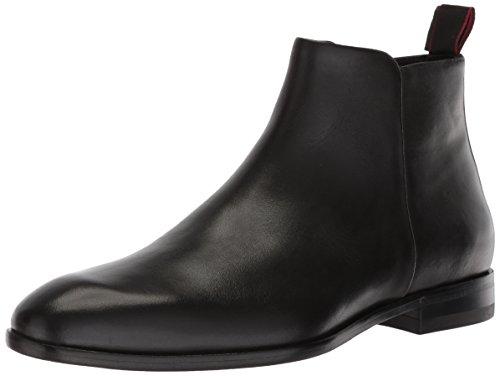 Hugo Boss Hugo by Men's Dress Appeal Zip Ankle Boot, Black, 8 N - Boots Boss Black Hugo