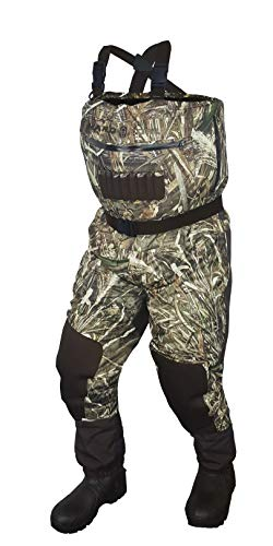 3361af682b13f COMPASS 360 Hardcore Breathable All Season Camo Bootfoot Chest Wader