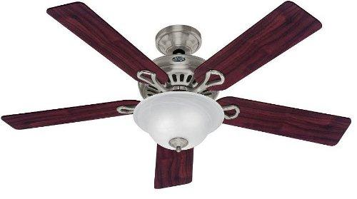 Hunter ceiling fans 20531 vista fan brushed nickel contemporary hunter ceiling fans 20531 vista fan brushed nickel contemporary indoor fan 52quot aloadofball Images