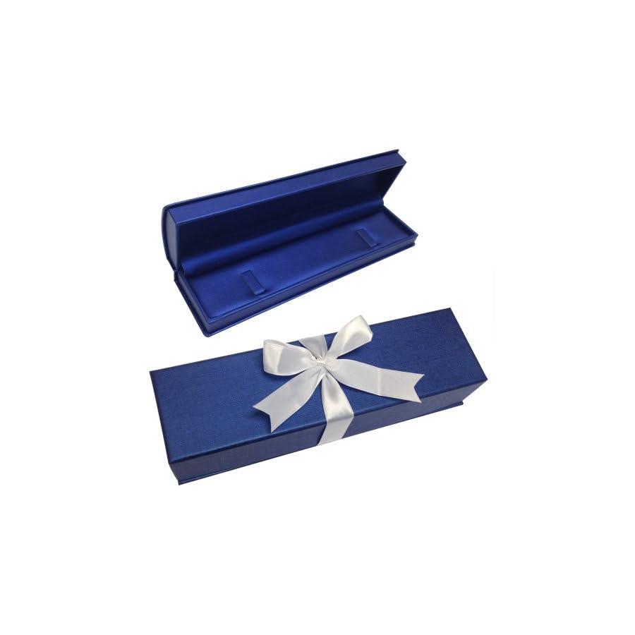 10K White Gold Oval Peridot and Diamond Bracelet