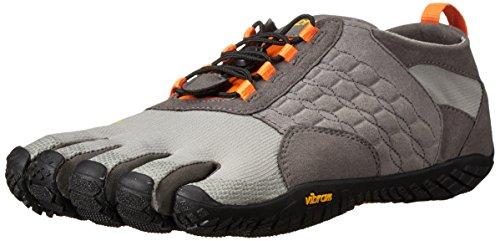 Vibram FiveFingers Herren Trek Ascent Outdoor Fitnessschuhe, Mehrfarbig (Grey/Orange/Black), 42 EU
