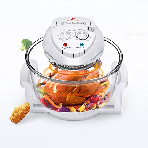 Amazon.com: kongqizhaguo 12L air Fryer 1 Convection Oven Home Multi-Function Perspective Steamer Large Capacity Electric Fryer Oven Oil-Free hot air Furnace ...