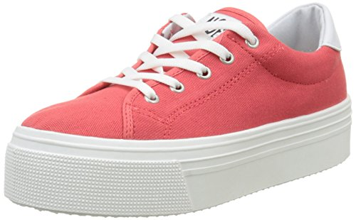 Baskets Alma Box pomelo E16 Femme Rose No Basses OSFxZq