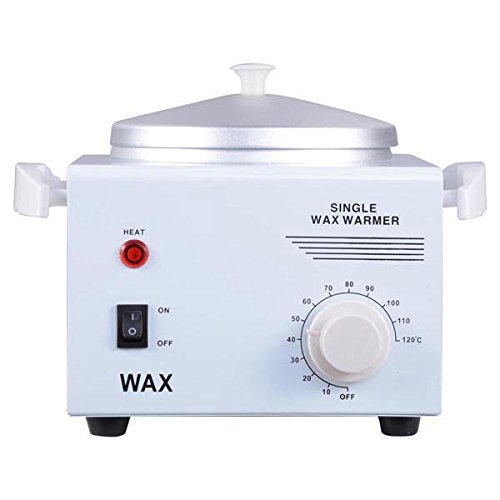 "Professional Single Wax Warmer Melting 4.3"" Aluminum Pot Electric Hot Wax Heater For Facial Hair Removal Total Body"
