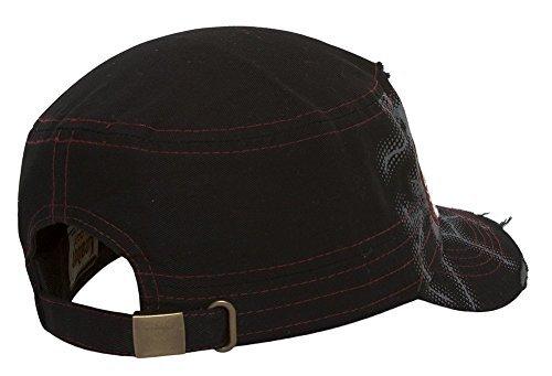 TopHeadwear Baseball Mom Distressed Adjustable Cadet Cap - Black by HLC (Image #2)