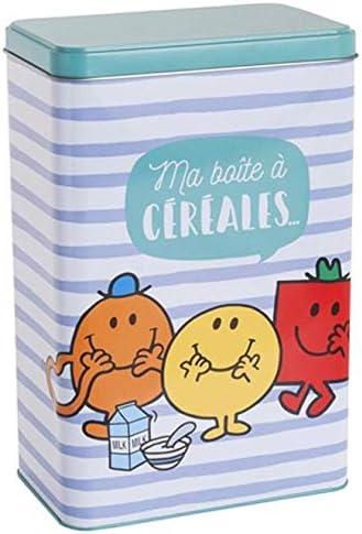Monsieur Madame Madame - Caja para Cereales (Metal): Amazon.es: Hogar