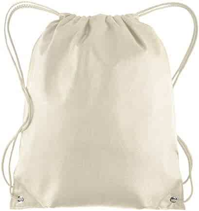 e4a392246326 Pack of 25 - Non-Woven Promotional Drawstring Bags - Drawstring Backpack in  BULK -