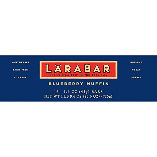Larabar Gluten Free Blueberry Muffin Fruit & Nut Bars 16 ct Box (Pack of 5) by Larabar (Image #4)