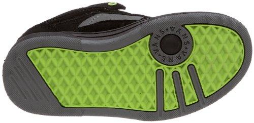 Vans Y BAXTER VMAX3L2 - Zapatillas de tela para niños Negro (Schwarz/black/black/lim)