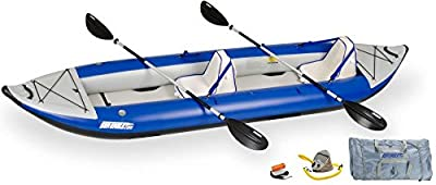 420xDLX Sea Eagle 420x Inflatable Kayak with Deluxe Package from Sea Eagle