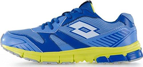 Lotto Zenith Vi Jr L, Zapatillas de Running Unisex Bebé Azul / Blanco (Blu Dan / Wht)