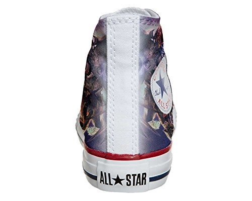 Converse All Star chaussures coutume mixte adulte (produit artisanal) Demon style