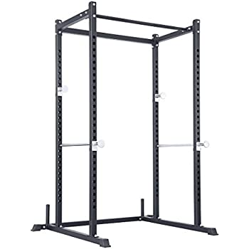 LILIONGTH Atlas Power Rack Squat Deadlift Cage with Bench Racks
