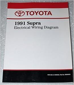 1991 Toyota Supra Electrical Wiring Diagram Ma70 Series Toyota Motor Corporation Amazon Com Books