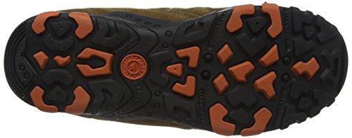 Hi-TecQuadra Classic - Zapatos de Low Rise Senderismo hombre Marrón (Smokey Brown/burnt Orange)