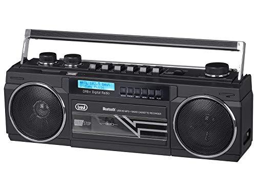 Trevi-RR-511-Dab-Radio-grabadora-con-Receptor-Digital-Dab-MP3-UBS-Bluetooth-funcion-Full-Recorder-en-musica-Negro