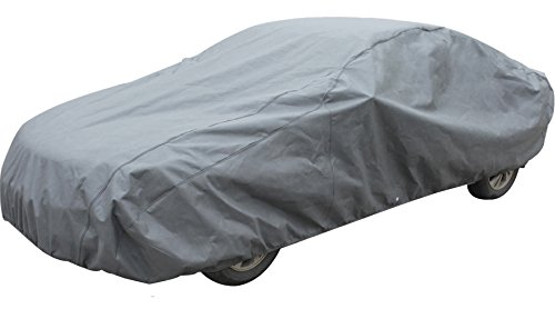 Leader Accessories Xguard 5 Layers Car Cover Waterproof Breathable Outdoor Indoor (Cars up to 15'4″(185″))