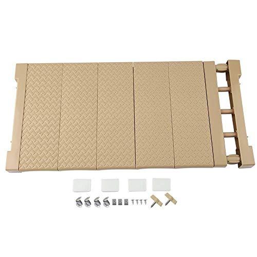 MOPOLIS Adjustable Wardrobe Tension Shelf Cupboard Storage Rack Separator Closet Divider | Item Size - XL 75-120CM