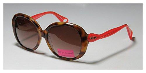 Betsey Johnson Cleopatra Bj0133 Womens/Ladies Designer Full-rim Gradient Lenses Sunglasses/Shades (55-16-135, Tortoise / - Sunglasses Cleopatra