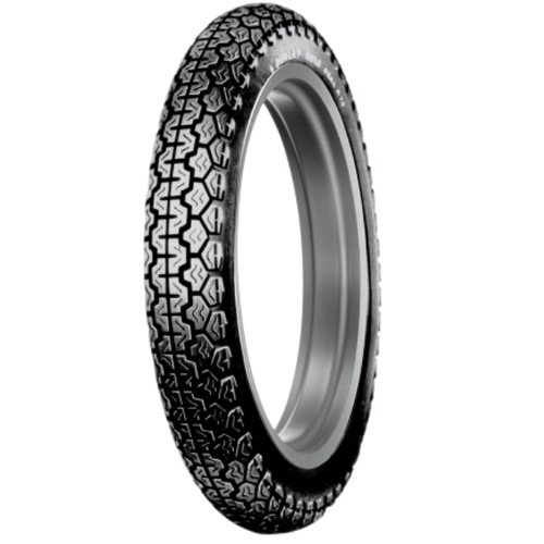 Dunlop 420245 Vintage K70 4.00S18 Classic Rear Tire for OEM fitment on Vintage Motocycles Tube Type (420245)