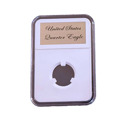 Little Bear Elite Certified-Style Coin Holder for US Coronet Quarter Eagle $2.50 Gold Piece