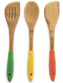 3 Piece Bamboo Cooking Utensil Set ...