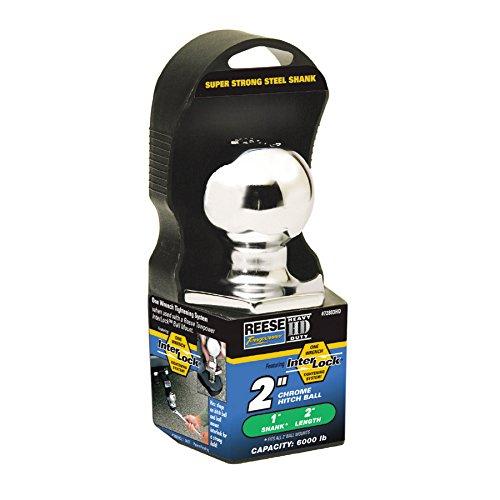 (1) Reese 2-in x 1-in x 2-in Interlock Hitch Ball 72803HD