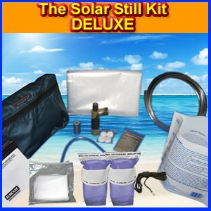 The Solar Still Deluxe Water Purification Kit by Survival Metrics