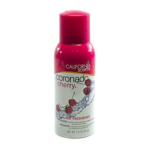 Cherry Aerosol - California Scents 41407 Aerosol Spray, Coronado Cherry, 3.5 Ounce